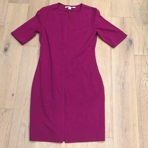 Diane von furstenberg dress size 12 zippers